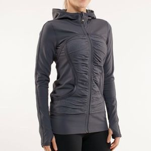 Lululemon Gray Jacket Size 8 NWOT